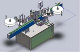 Automatic Labelling Machine (Double-side for Square bottle & with Positioning) FS2000B